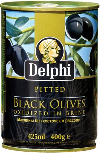 Черни маслини без костилка