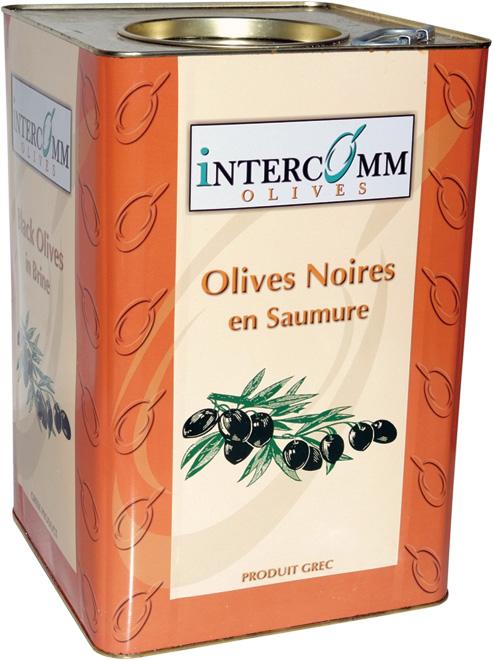 Черни стерилизирани маслини
